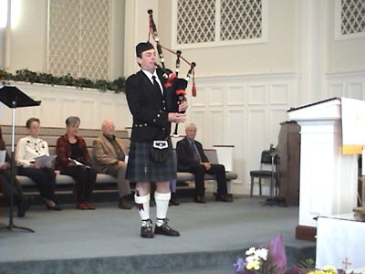 Yearly Bagpipe Gigs